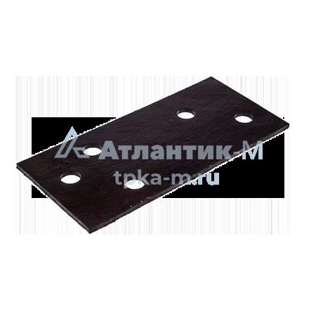 Прокладка резиновая под рельс ЦП-362